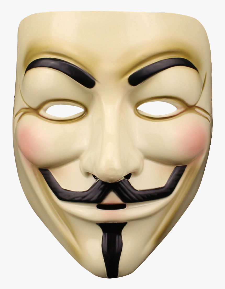 Anonymous Mask Png Transparent Image - Anonymous Mask Png, Png Download, Free Download