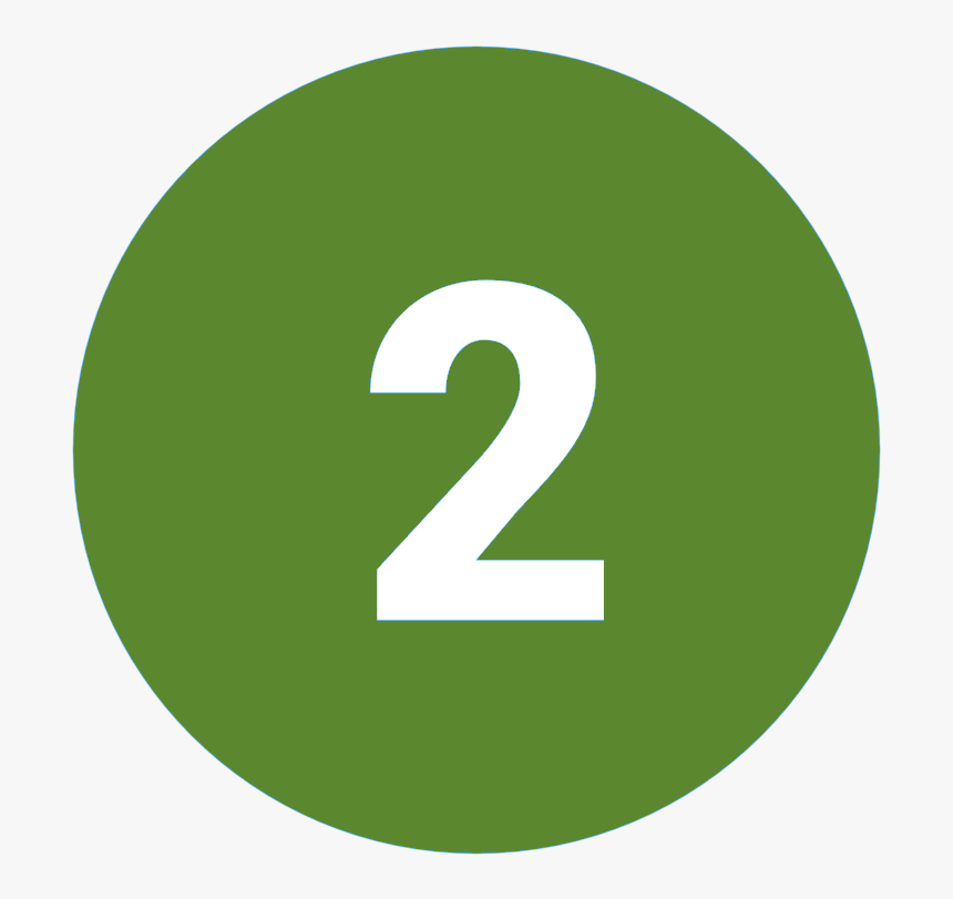 Number 1 2 3 Icon - 1 2 3 Icon Green, HD Png Download, Free Download
