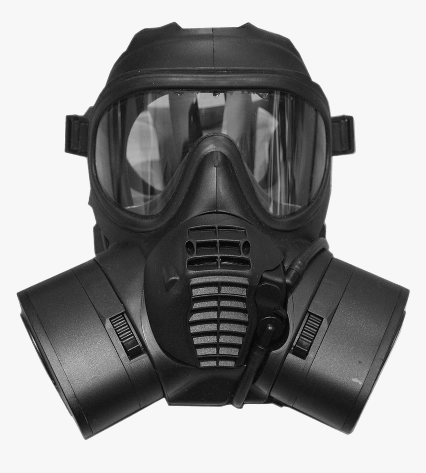 Gas Mask Png - British Army Gas Mask, Transparent Png, Free Download
