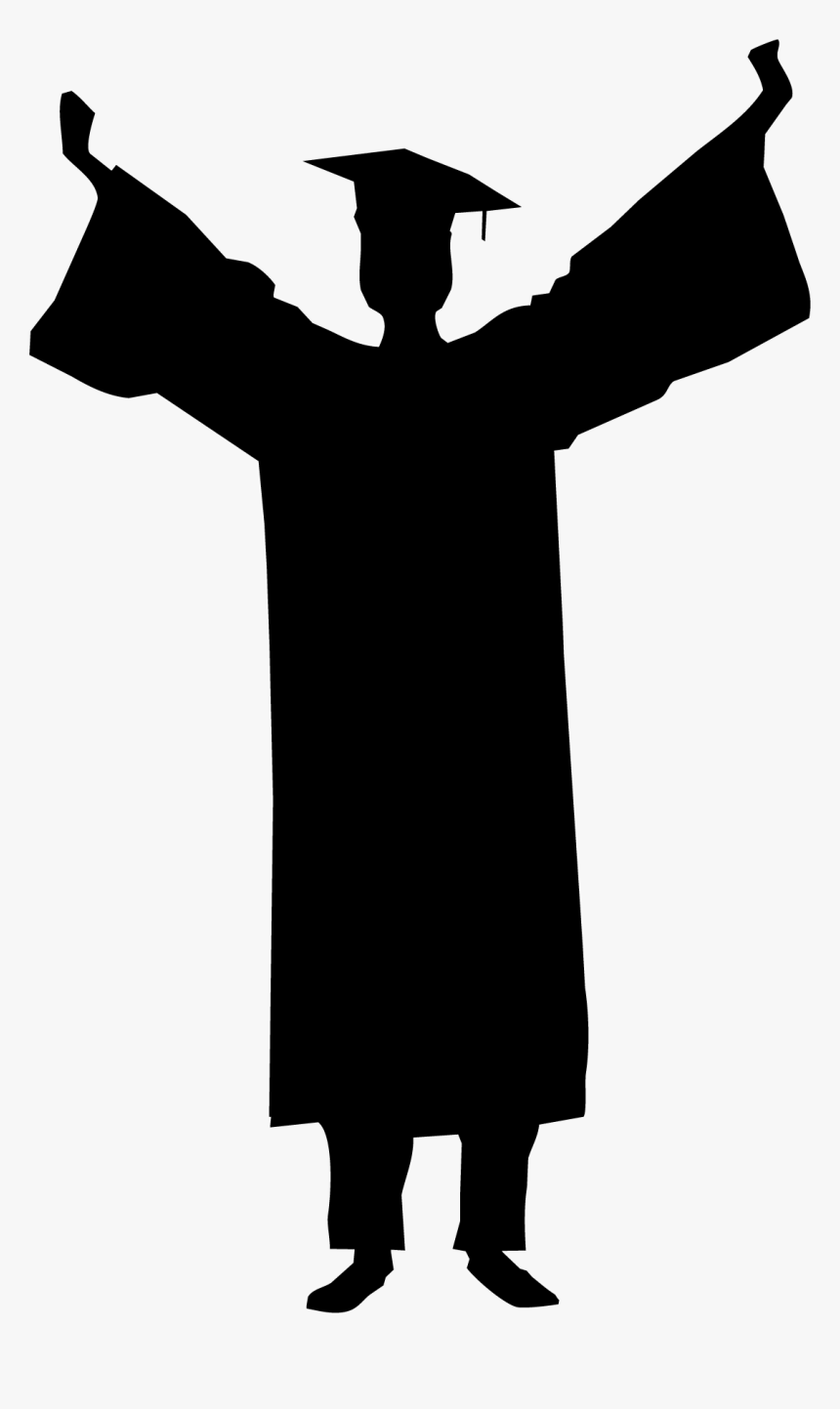 Convocation Cap Png - Vector Graduate Silhouette ...