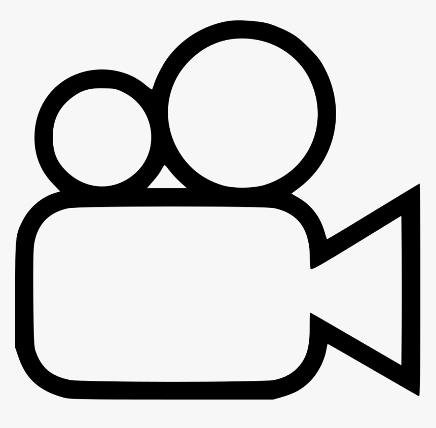 Video Camera Comments - Video Camera Icon Png, Transparent Png, Free Download