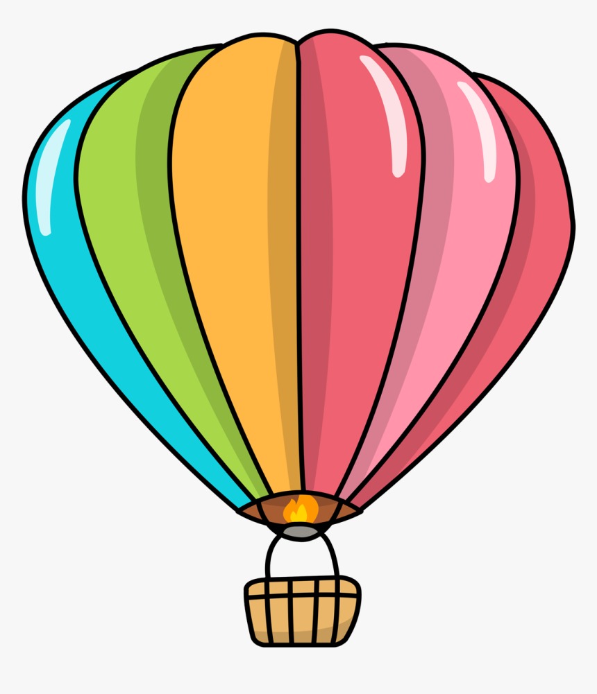 Clipart Hot Air Balloon, HD Png Download, Free Download