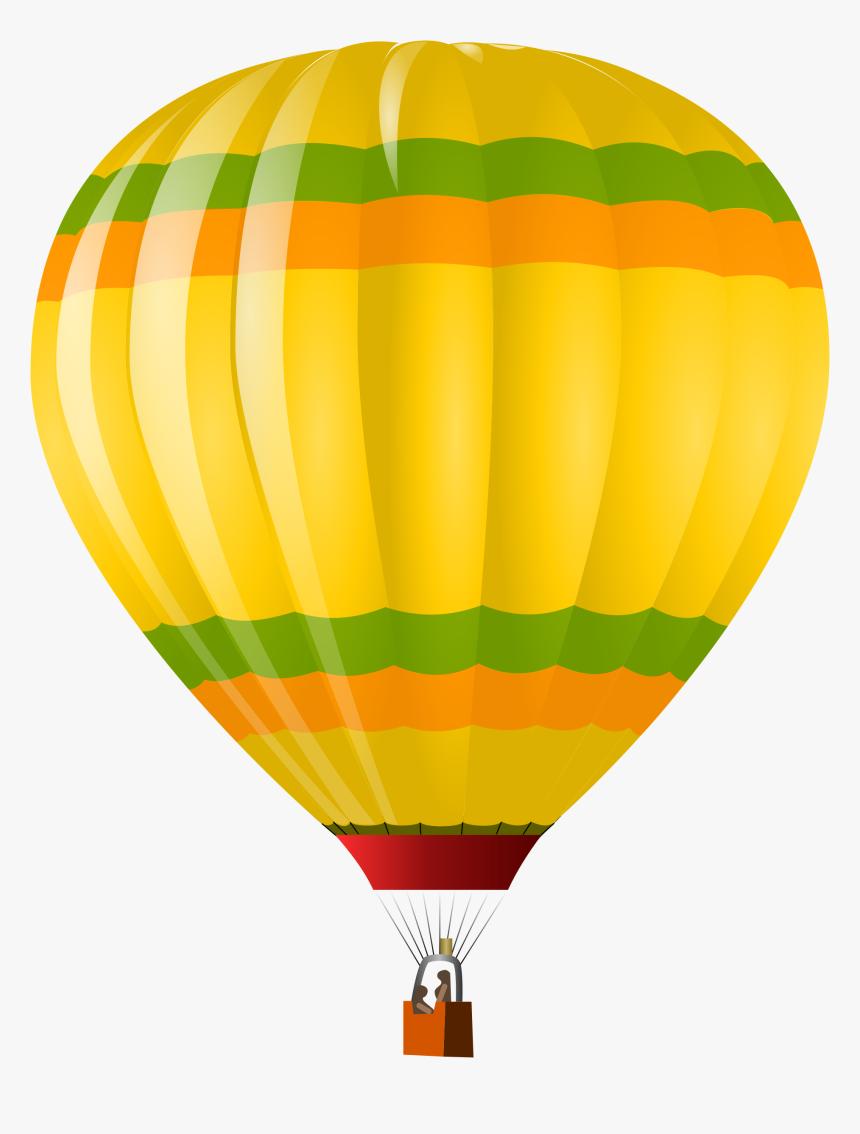 Png Hot Air Balloon - Hot Air Balloon Vector Png, Transparent Png, Free Download