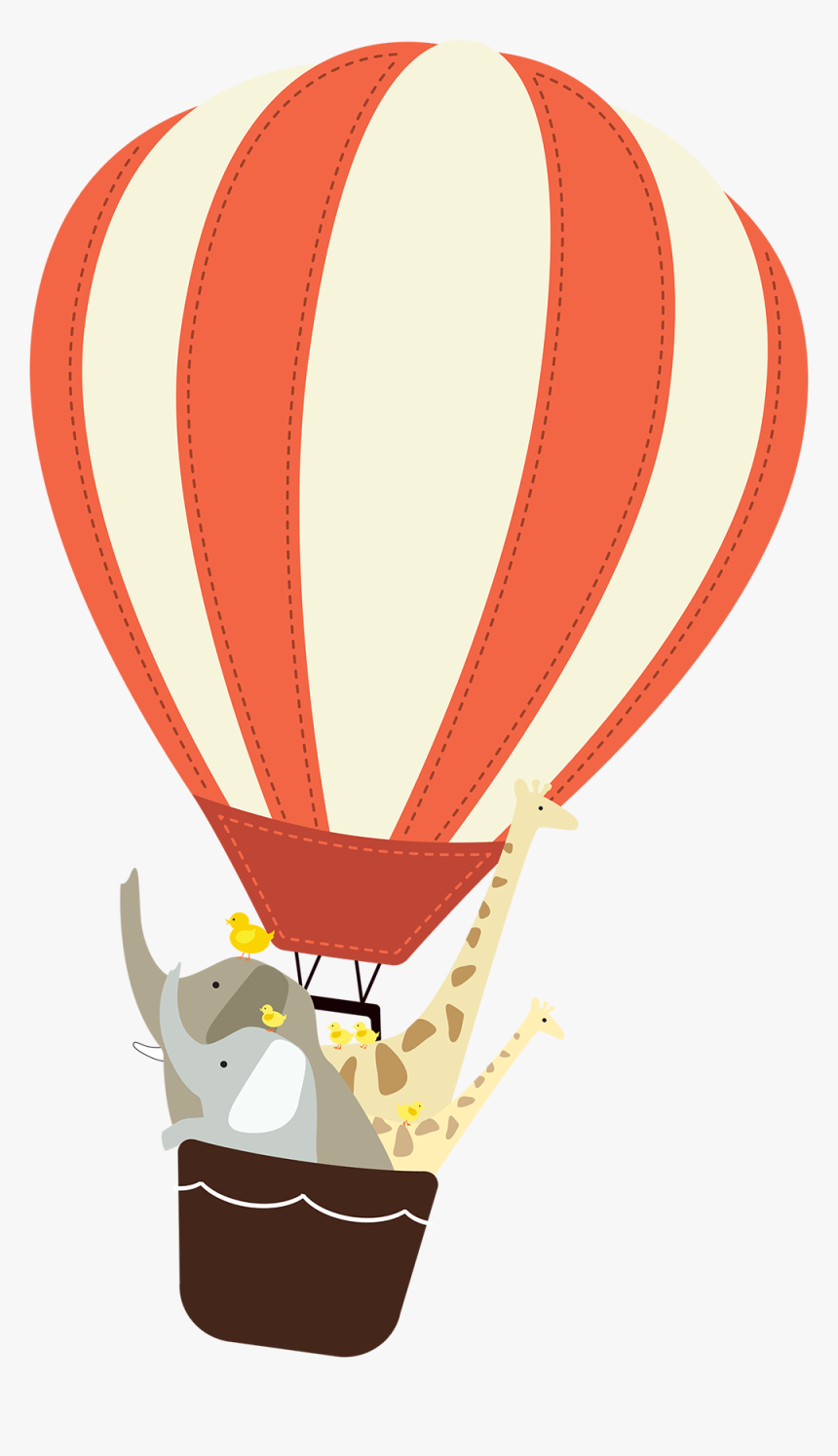 Hot Air Balloon,hot Air Ballooning,clip - Hot Air Balloons Cartoon Images Png, Transparent Png, Free Download