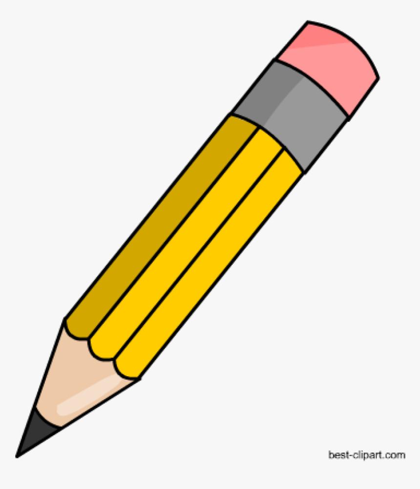Pencil Clipart Free Pencil Clip Art Classroom Clipart - Pencil Clipart, HD Png Download, Free Download