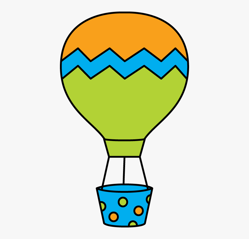 Clipart Toys Hot Air Balloon - Orange Hot Air Balloon Clipart, HD Png Download, Free Download