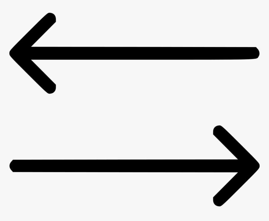 Arrows Directions Left Right - Transparent Arrows Left And Right, HD Png Download, Free Download