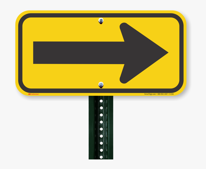Left Or Right Directional Arrow Sign - Sign Left, HD Png Download, Free Download