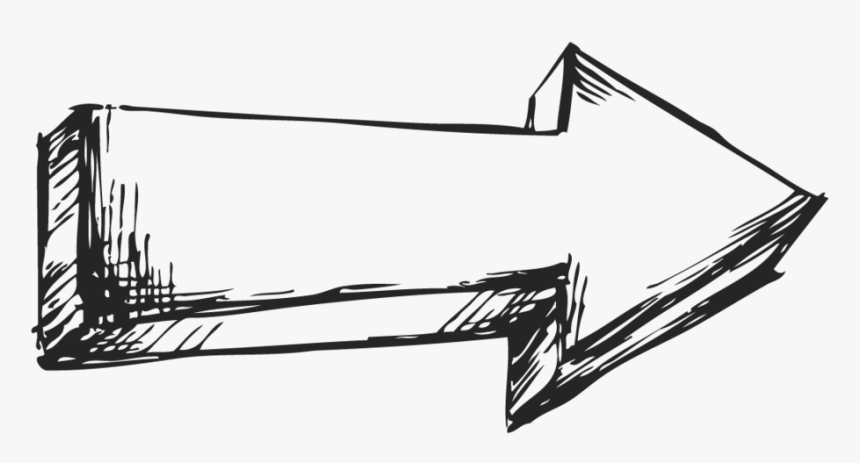 Right Arrow Png Transparent - Right Arrow Drawing, Png Download, Free Download