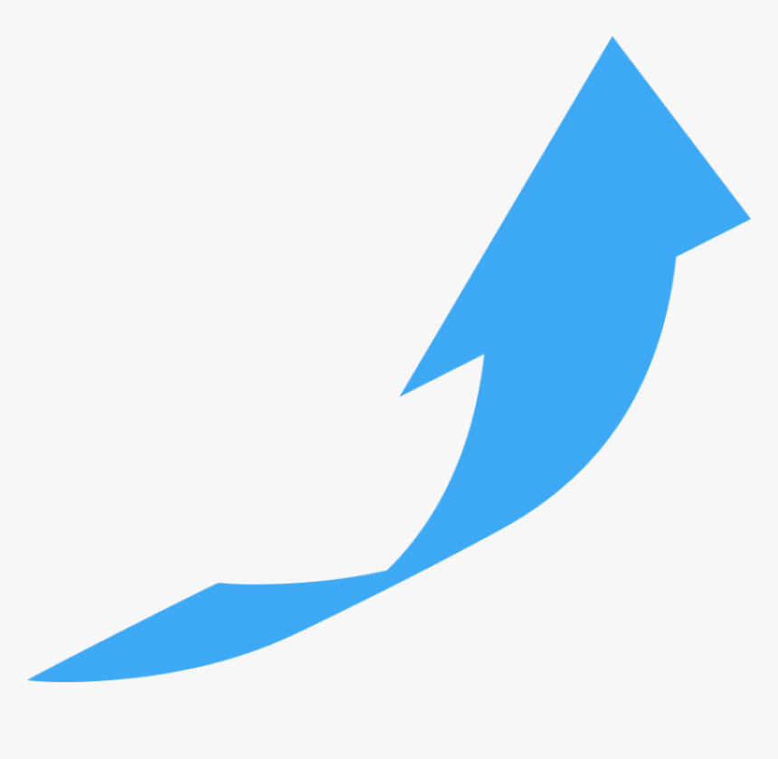 Arrow Pointing - Arrow Pointing Up And Right, HD Png Download, Free Download