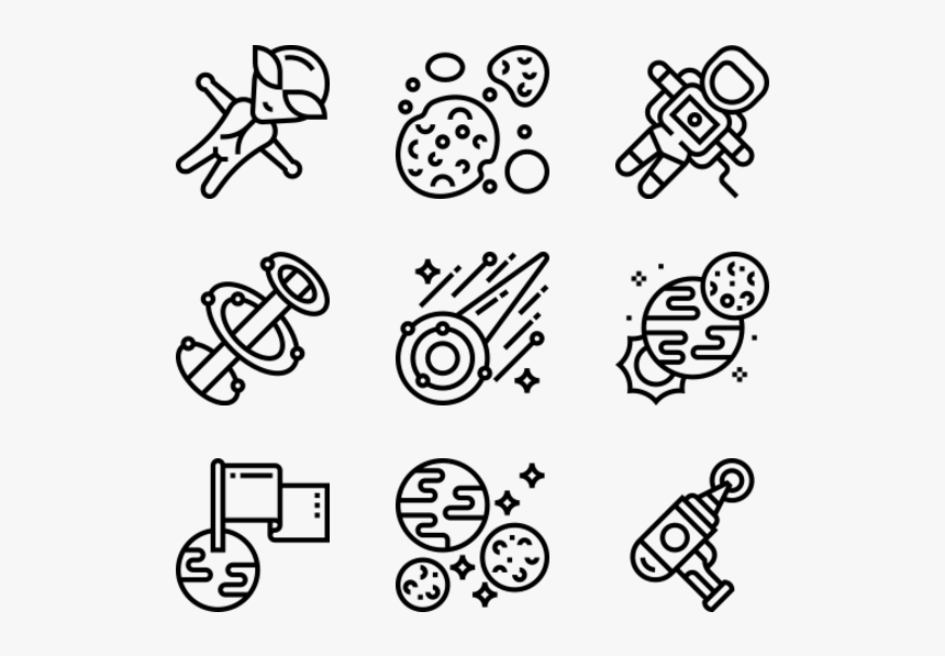 Space - Conference Icons, HD Png Download, Free Download