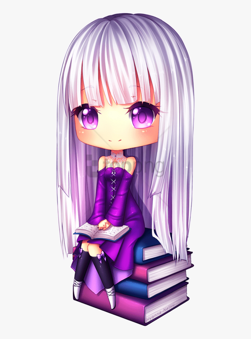 Veda By Hyanna-natsu - Chibi Cute Anime Girls, HD Png Download, Free Download