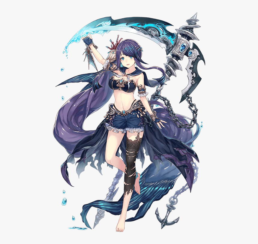 Sinoalice Little Mermaid, HD Png Download, Free Download
