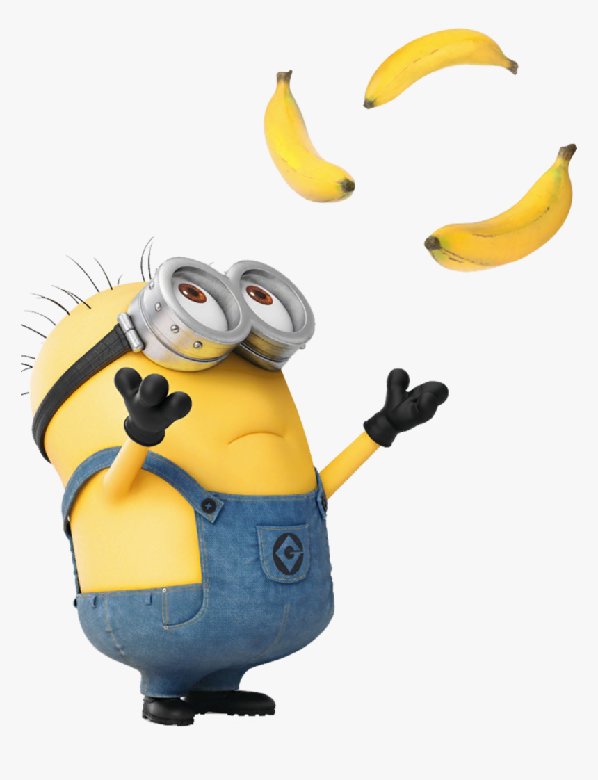 Meu Malvado Favorito Minions Jerry Png - Minion Banana Gif Transparent, Png Download, Free Download