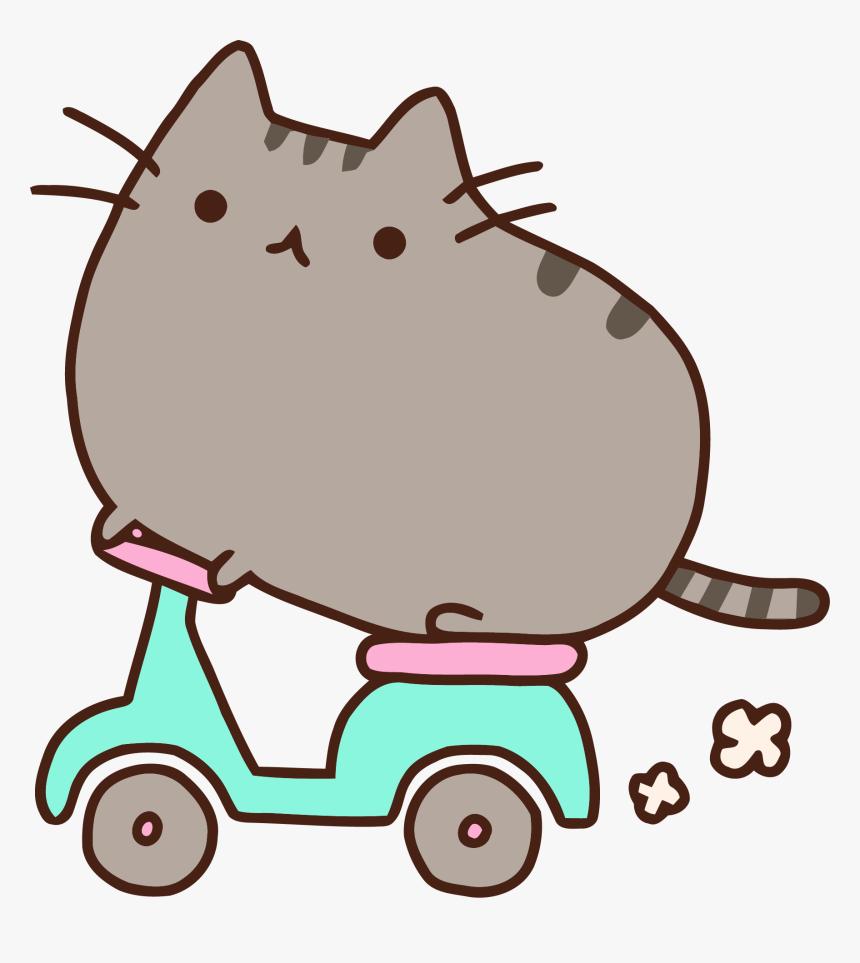 Download Desktop Nyan Pusheen Wallpapers Cat Download - Pusheen The Cat, HD Png Download, Free Download