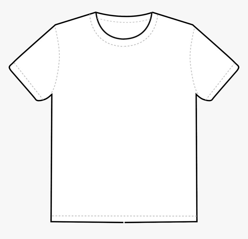 Black T Shirt Template Png - Transparent Shirt Template Png, Png Download, Free Download
