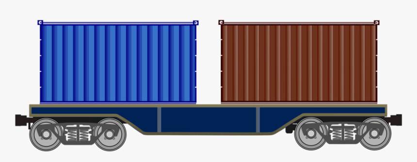 Cargo,rolling Stock,freight Transport - Train Wagon Png, Transparent Png, Free Download
