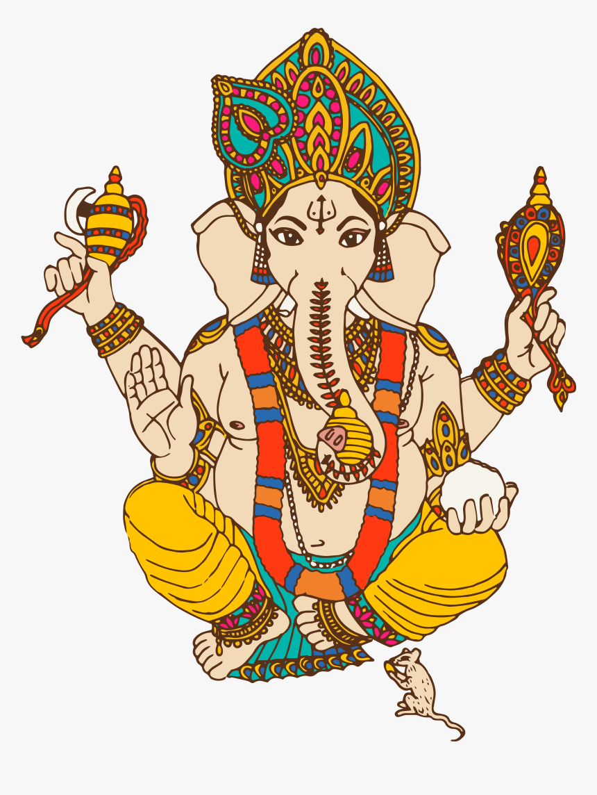 Png Lord Ganesha Files, Transparent Png, Free Download