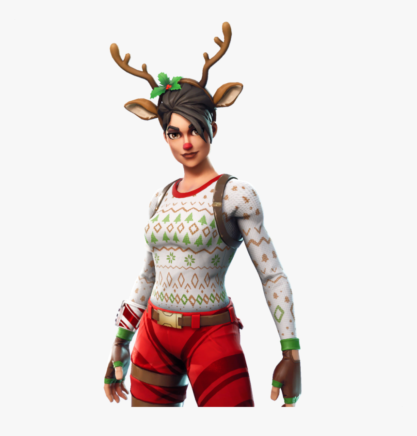 Fortnite Character Png - Fortnite Red Nosed Raider Png, Transparent Png, Free Download