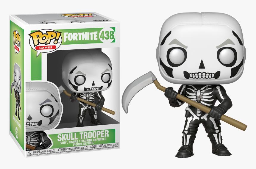 Skull Trooper Clipart Character - Fortnite Funko Pop Skull Trooper, HD Png Download, Free Download