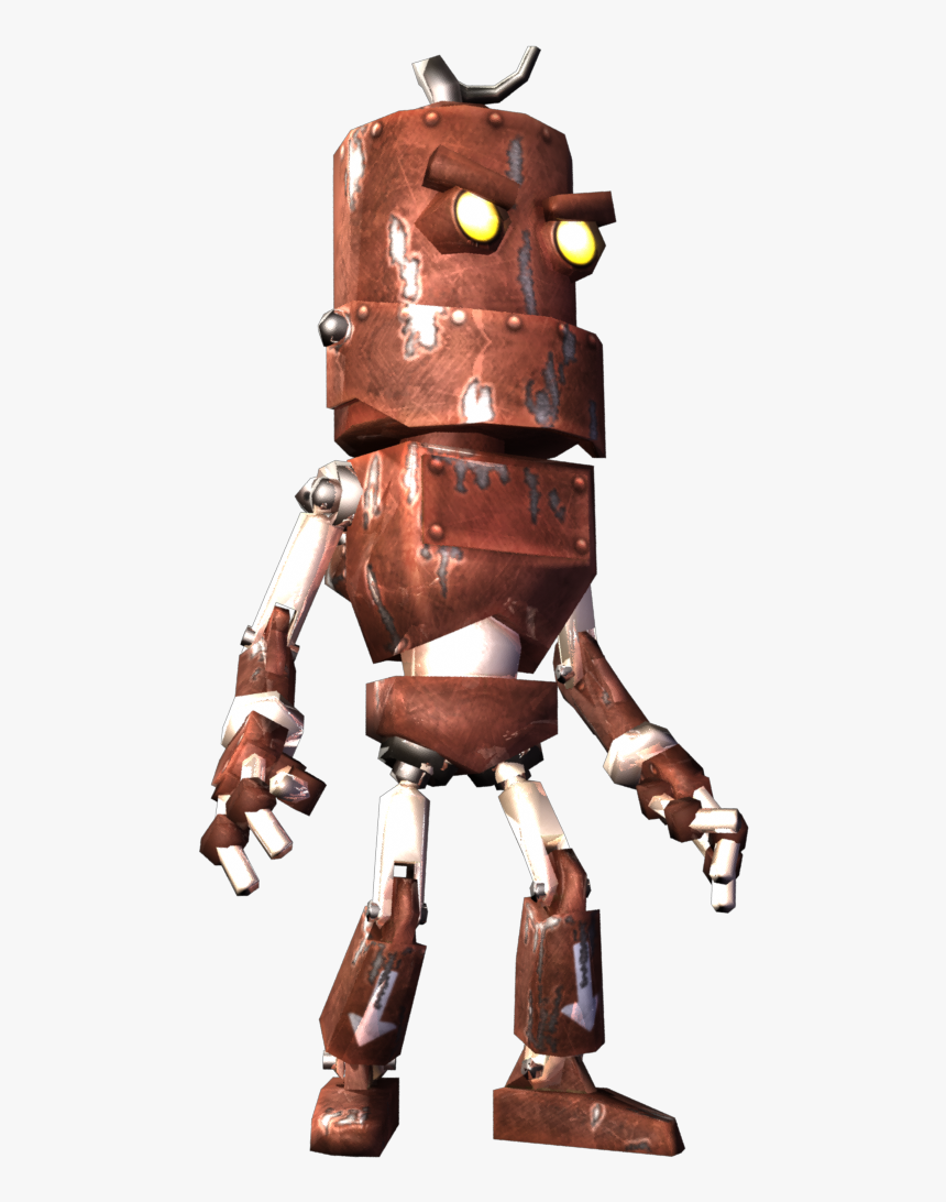 Rusty The Robot - Robot, HD Png Download, Free Download