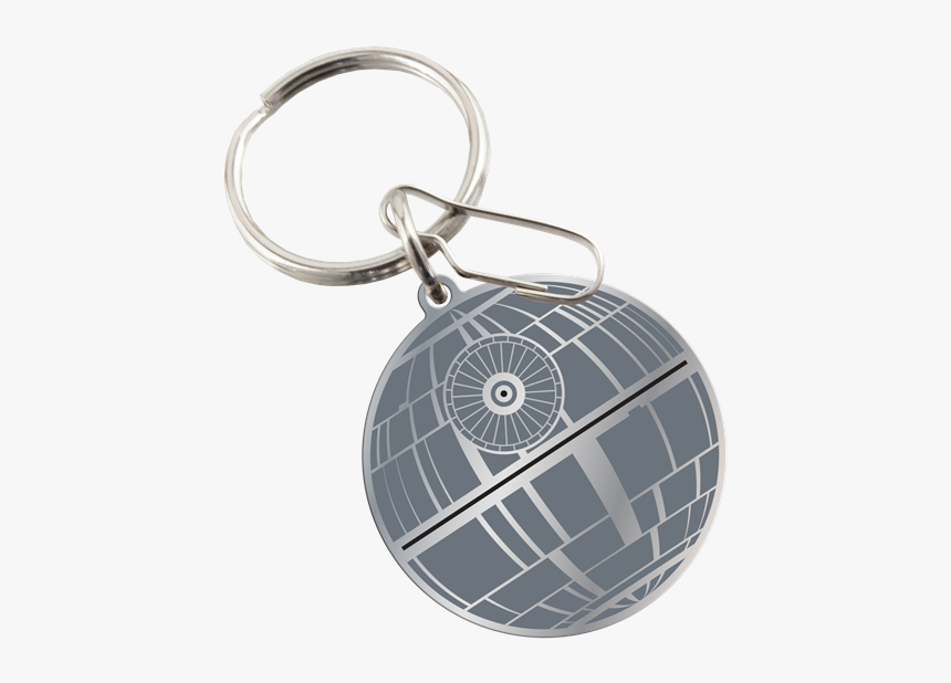 Picture Of Star Wars Death Star Enamel Key Chain - Cool Star Wars Key Chain, HD Png Download, Free Download
