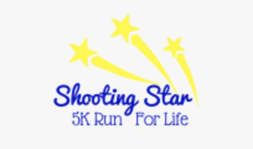 Shooting Star 5k Run & Walk For Life - Star, HD Png Download, Free Download