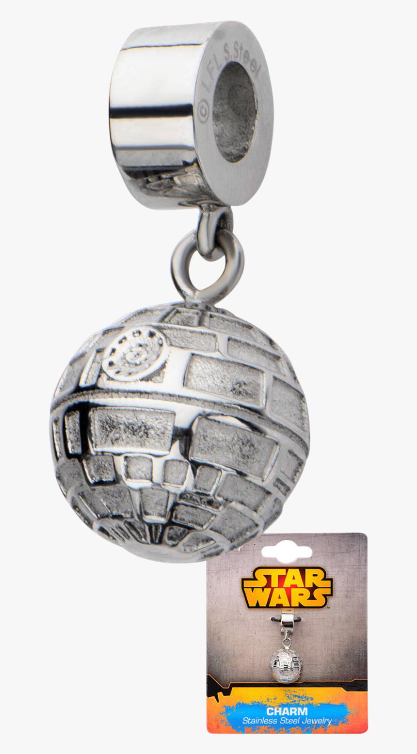 Star Wars Death Star Dangle Charm - Star Wars Dangle Charm, HD Png Download, Free Download