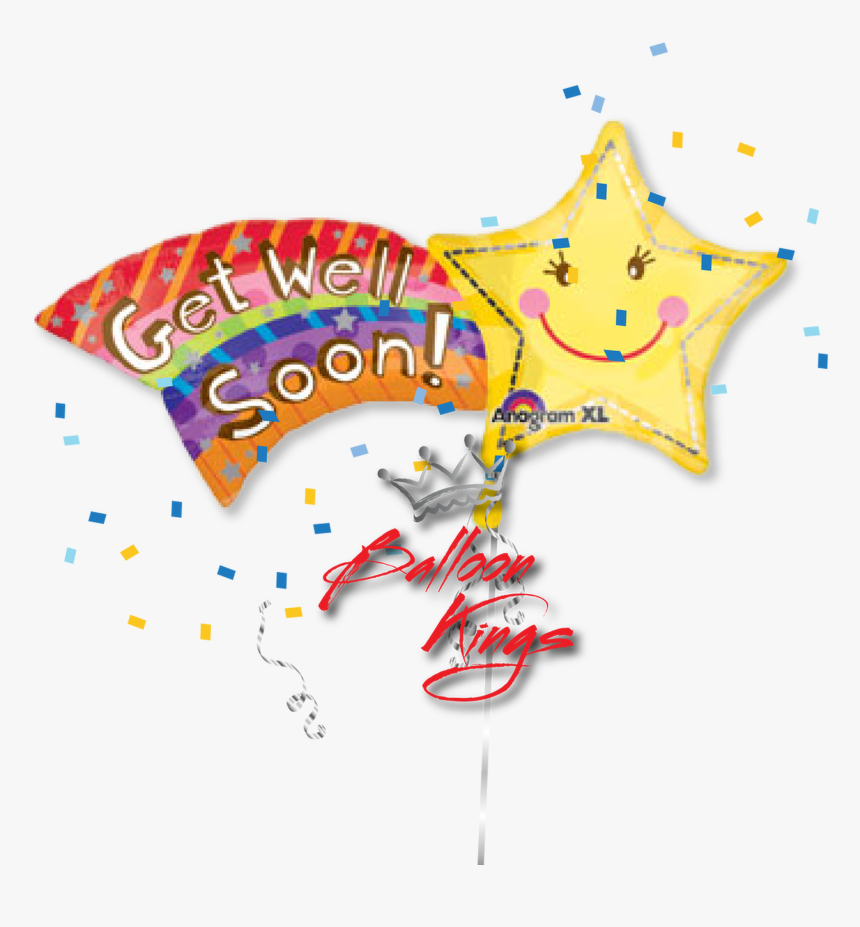 Get Well Soon Shooting Star - Get Well Soon Clipart, HD Png Download, Free Download