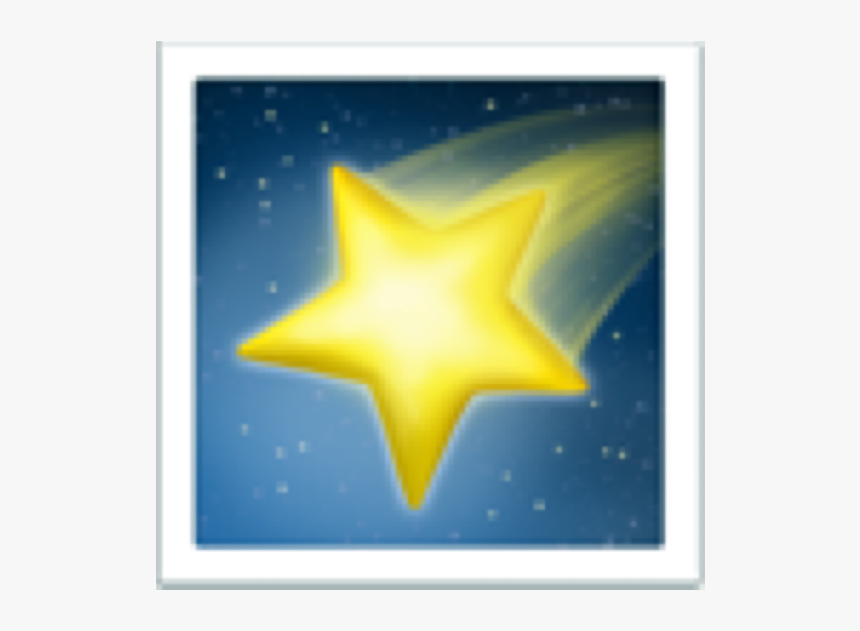 #yellow #shooting #star #polaroid #frame #picture #square - Zodiac Signs Aesthetic, HD Png Download, Free Download