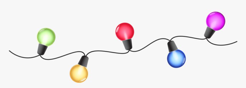 Christmas Lights Clip Art - Clip Art Christmas Lights, HD Png Download, Free Download