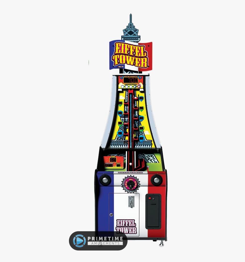 Eiffel Tower Redemption Arcade Game By Andamiro - Eiffel Tower Arcade Game, HD Png Download, Free Download