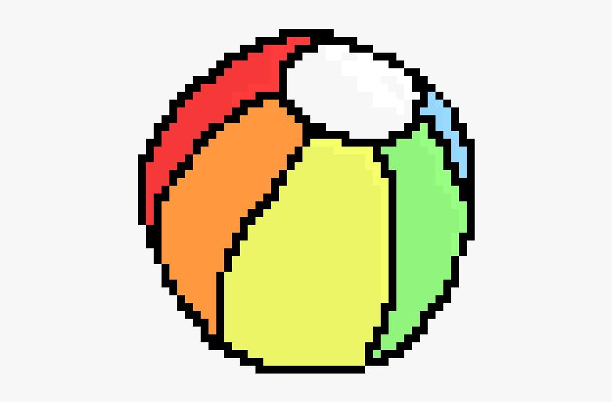 Beach Ball Pixel Art, HD Png Download, Free Download