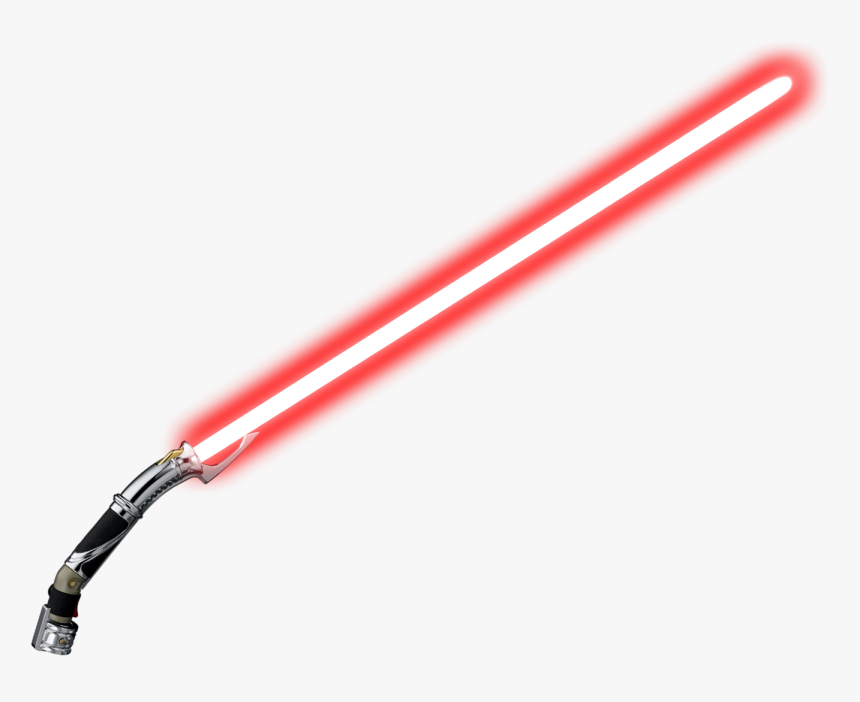 Lightsaber Png Laser - Count Dooku Lightsaber Transparent, Png Download, Free Download