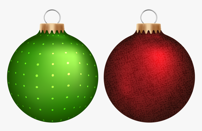 Green Christmas Ornaments Vector Transparent Download Red Christmas Ball Png Png Download Kindpng