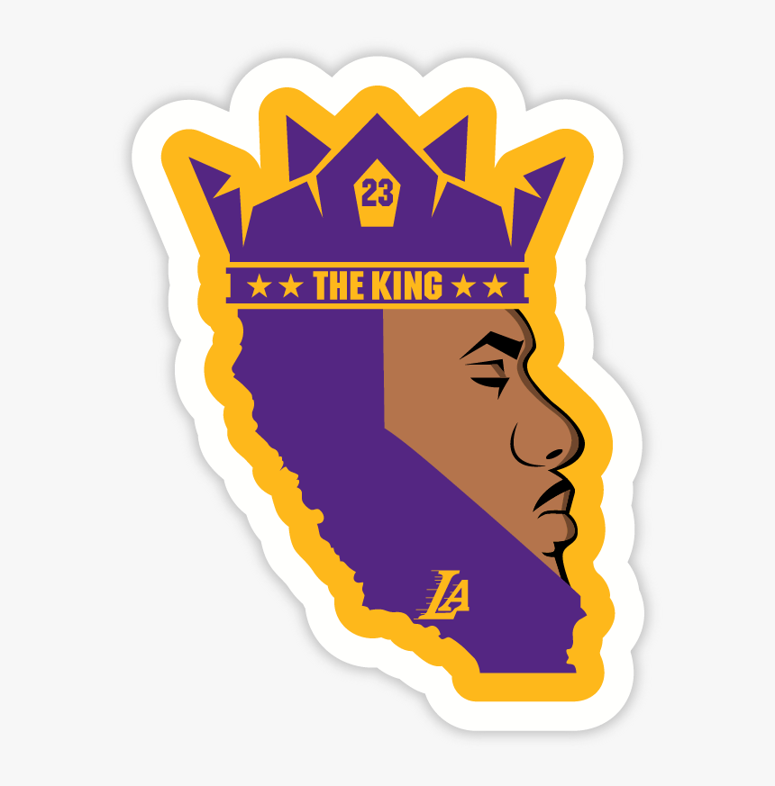 King James - Lebron James Logo Lakers, HD Png Download, Free Download