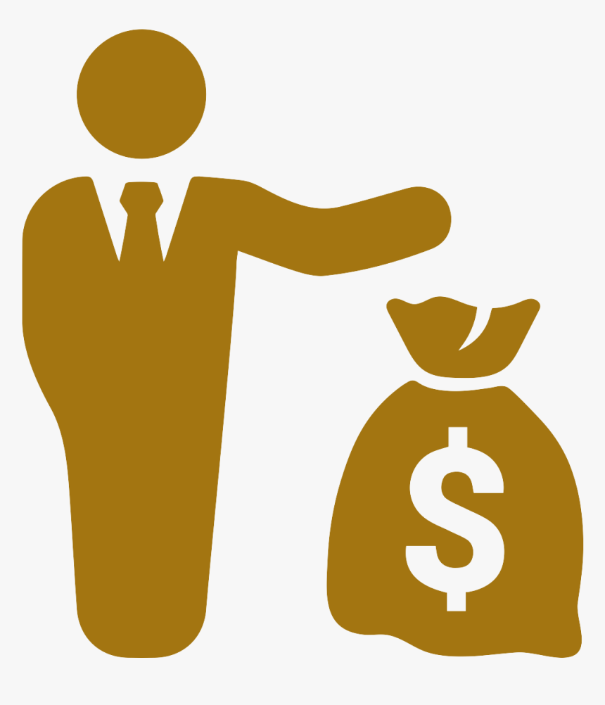 Man With Money Icon Clipart , Png Download - Risk Icon Noun Project, Transparent Png, Free Download