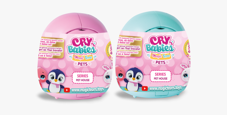 91085im 91085imv Box V40 02 - Cry Babies Magic Tears Pets, HD Png Download, Free Download