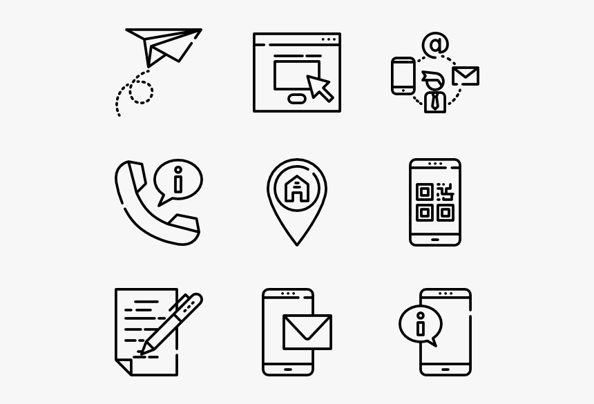 Contact Us - Contact Us Icon Doodle, HD Png Download, Free Download