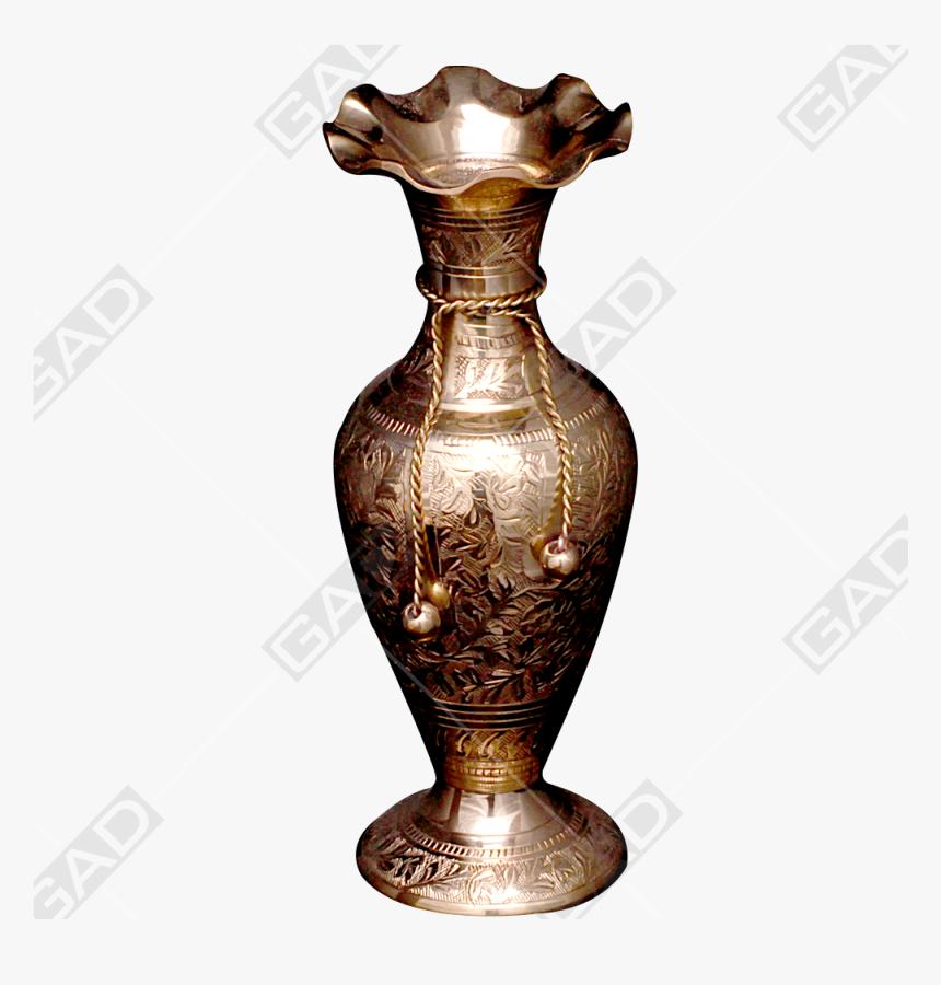 Flower Vase Tie Jasmine Gold Polished - Brass, HD Png Download, Free Download