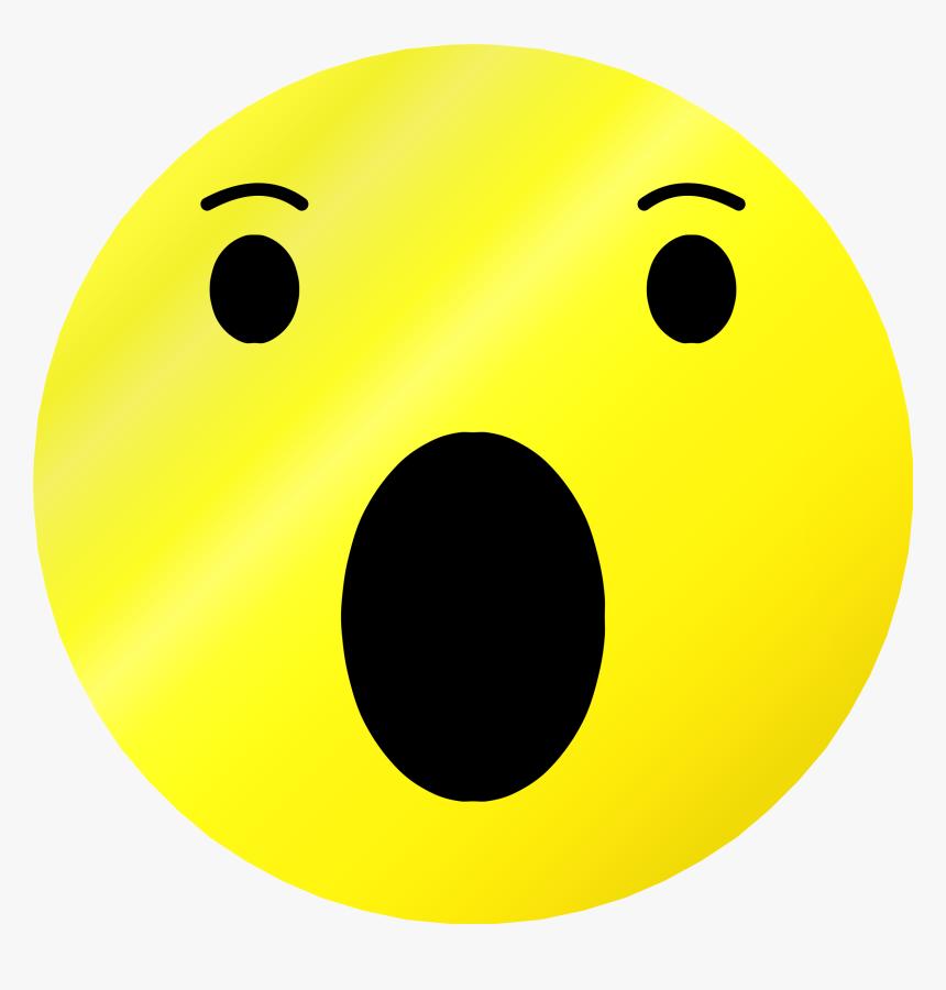 Transparent Surprised Emoji Png - Surprised Facebook Emoji, Png Download, Free Download