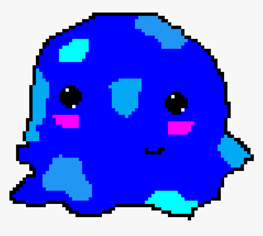 Puddle Slime , Png Download - Dungeon Door Pixel Art, Transparent Png, Free Download