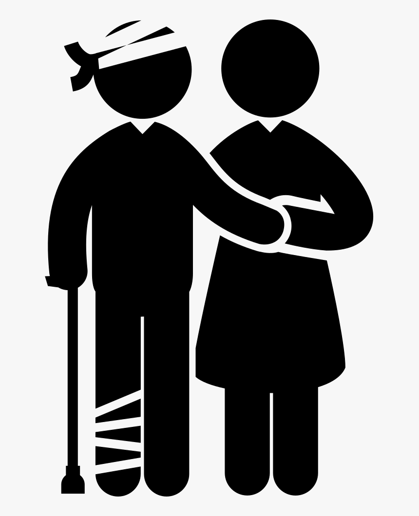 Transparent Injured Person Clipart - Injured Person Png, Png Download, Free Download
