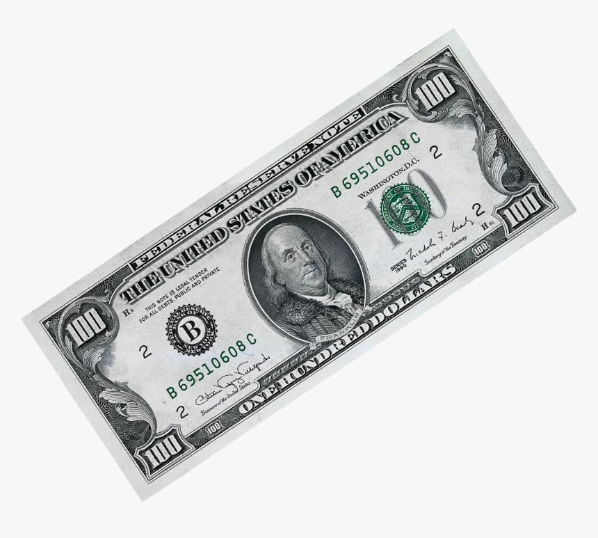 100 Dollar Png - 100 Dollar Bill Transparent Background, Png Download, Free Download