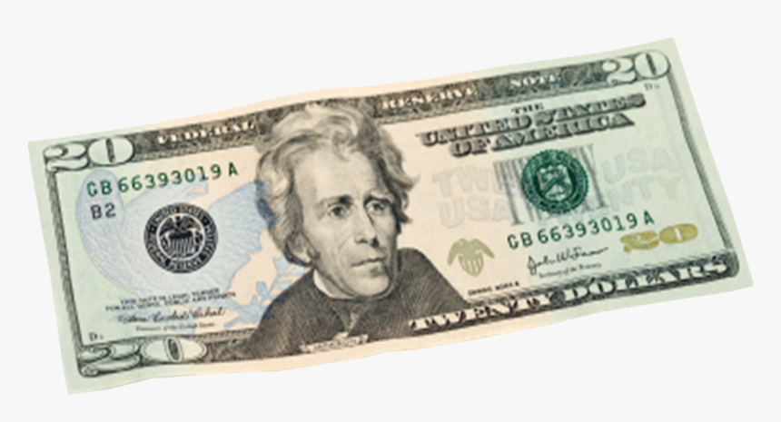 Download For A Bill - 20 Dollar Bill Transparent, HD Png Download, Free Download
