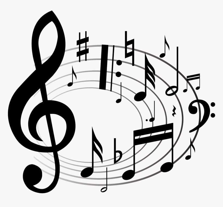 Grab And Download Music Notes Png Image Without Background - Clip Art Musical Notes, Transparent Png, Free Download