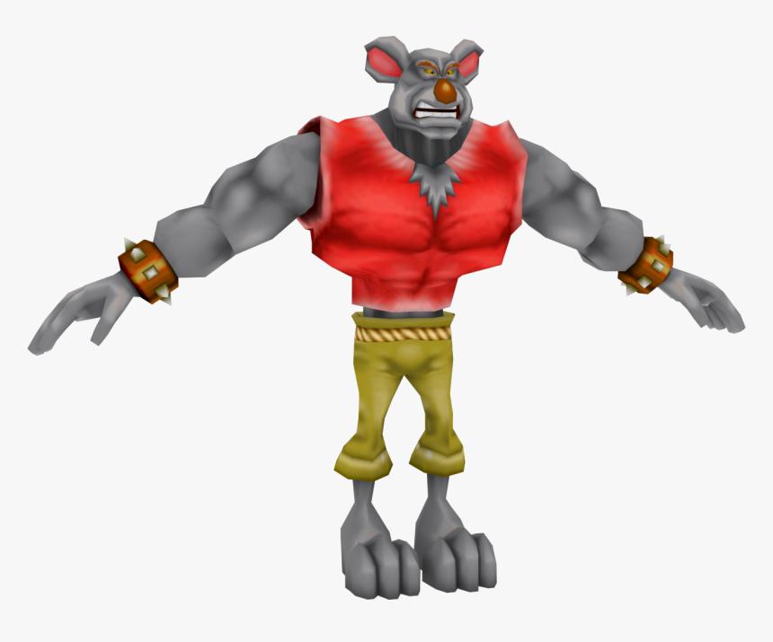 Crash Bandicoot Koala Kong Png - Crash Twinsanity Koala Kong, Transparent Png, Free Download