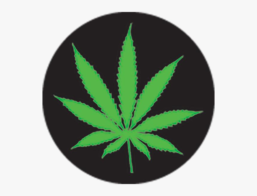 Transparent Real Weed Leaf Png - Weed Leaf Black Background, Png Download, Free Download