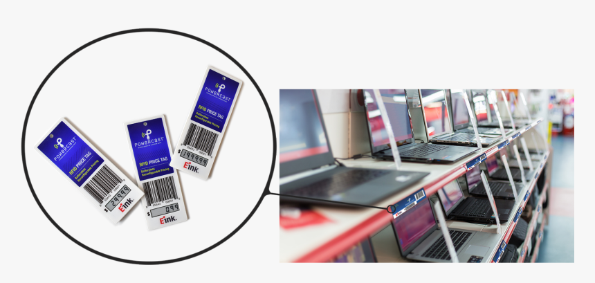 Rfid Price Tag Laptop Photo With Blowout 60% - Laptop Store, HD Png Download, Free Download