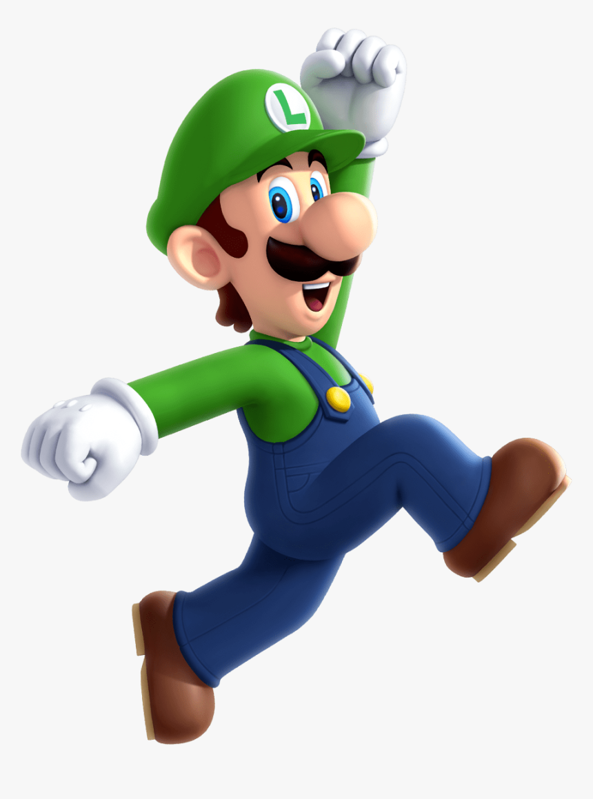 Luigi Png Image Transparent Transparent Background Game